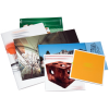 Brochures agrafées dans divers formats en format portrait et paysage ou carré