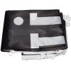 Inclus dans la livraison : drapeau imprimé, plié, pourvu de crochets en plastique