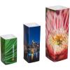 présentoirs à 4 côtés en 3 tailles différentes