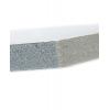 Matériau : KAPA-Plast ; malgré l'épaisseur de 10mm, la plaque s'illustre par un poids léger.