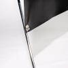 Bannière X modèle standard, disponible dans les tailles de bannière de 60 x 160 cm à 80 x 200 cm.