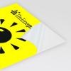 Papier fluo jaune (image similaire).