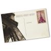 Exemple : recto de carte postale individuel (les timbres ne sont pas compris dans la livraison)