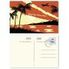 Exemple : recto et verso (individuel ; les timbres ne sont pas compris dans la livraison)