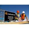 Notre conseil de matériau pour les panneaux de chantier : Alu-Dibond blanc, idéal pour l'utilisation à l'extérieur (illustr. similaire) / photo ©iStockphoto.com/shotbydave