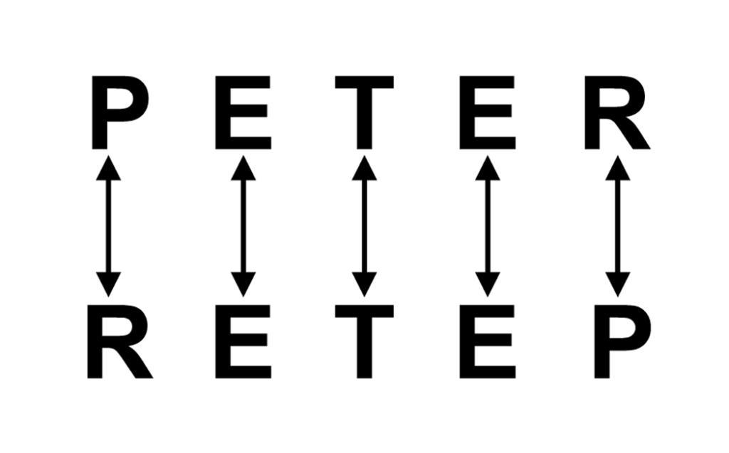 Comment créer un ambigramme, étape 1