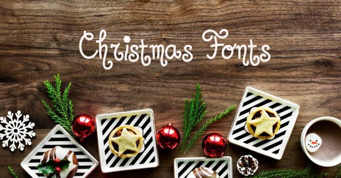 des polices d'écriture Noël