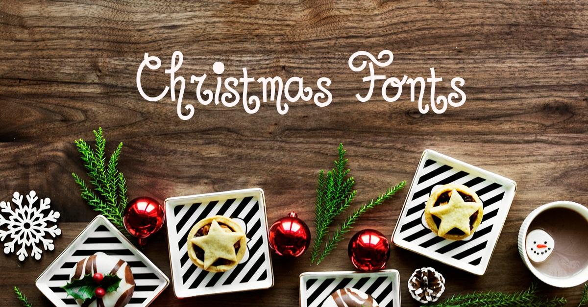 Un Large Choix De Polices D écriture Pour Noël à Télécharger