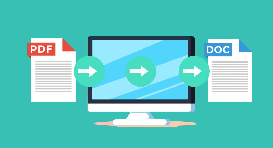 convertir un pdf en word avec acrobat et des outils en ligne