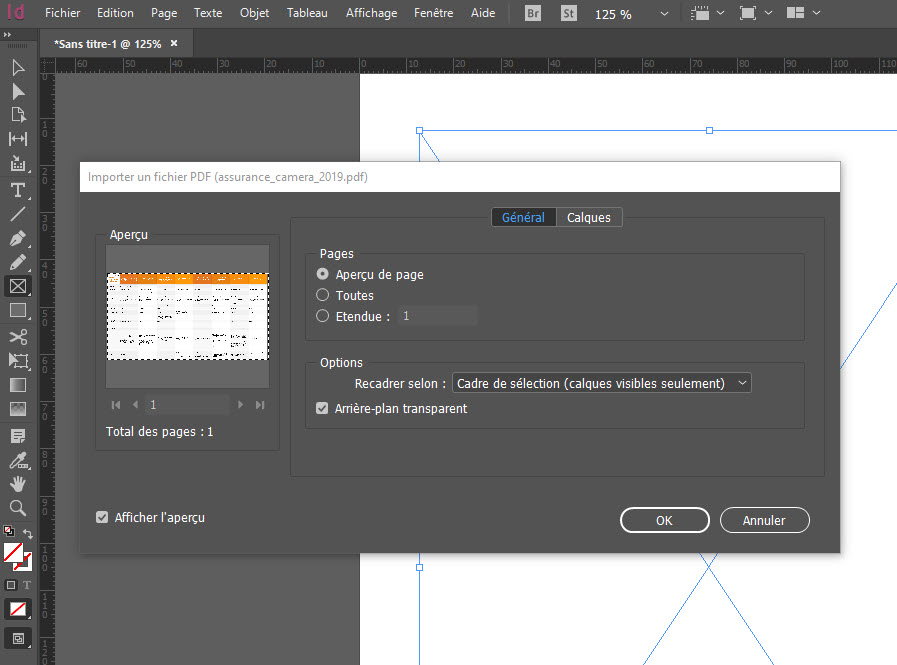 Comment compresser un PDF avec Indesign