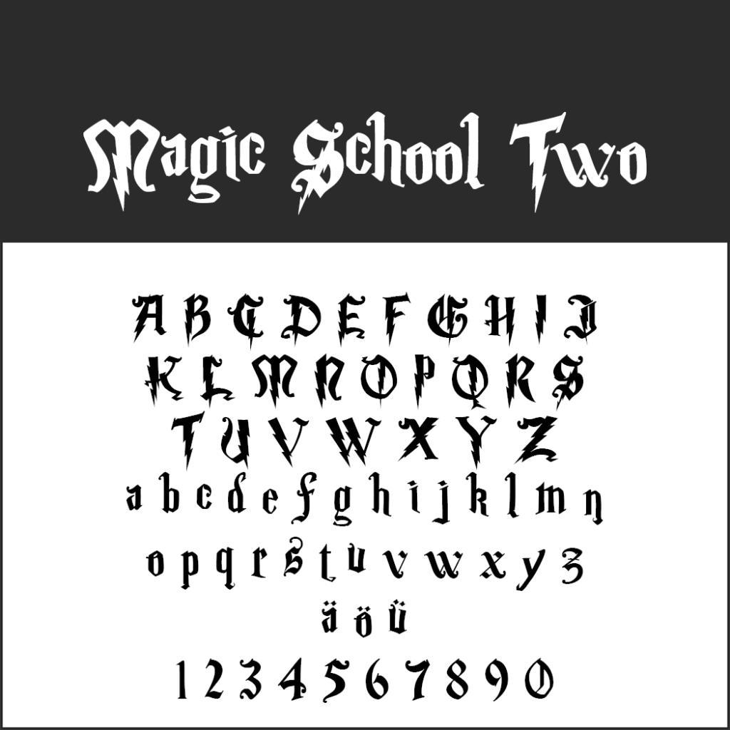 Remarquable Police d'écriture Harry Potter : des fonts magiques à télécharger SP-11