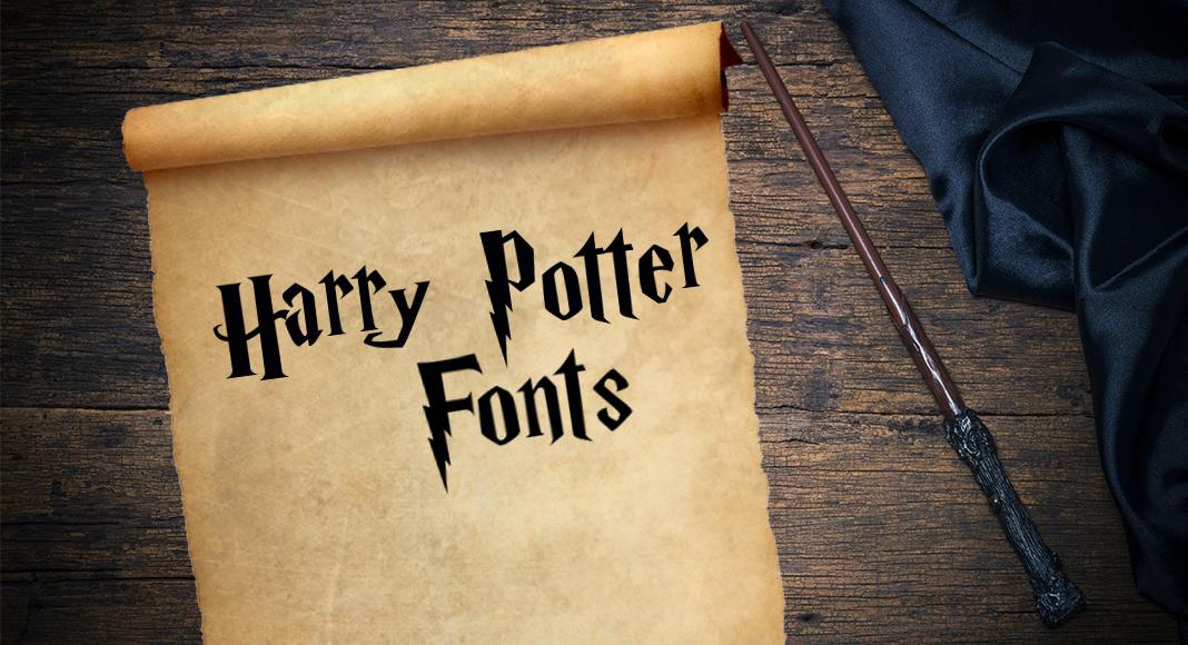 Police D Ecriture Harry Potter Des Fonts Magiques A