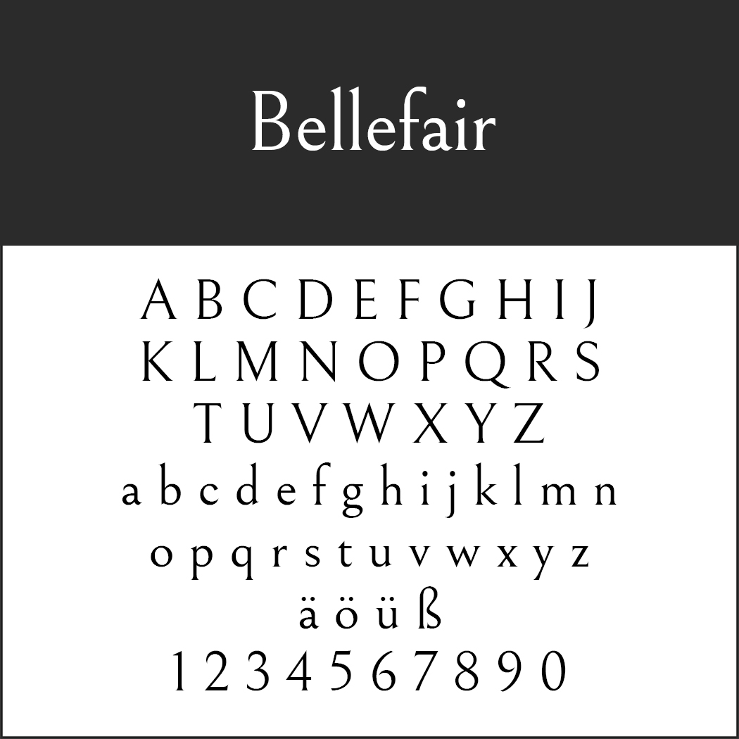 Bellefair by Shinntype